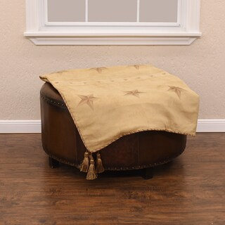 HiEnd Accents Star Light Tan Throw