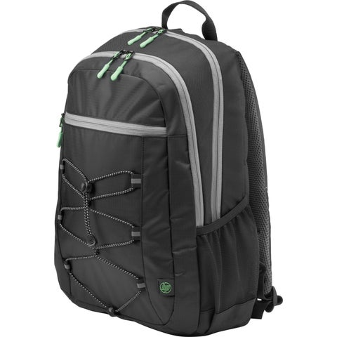 """HP Active Carrying Case (Backpack) for 15.6"""" Notebook - Black, Mint G"""