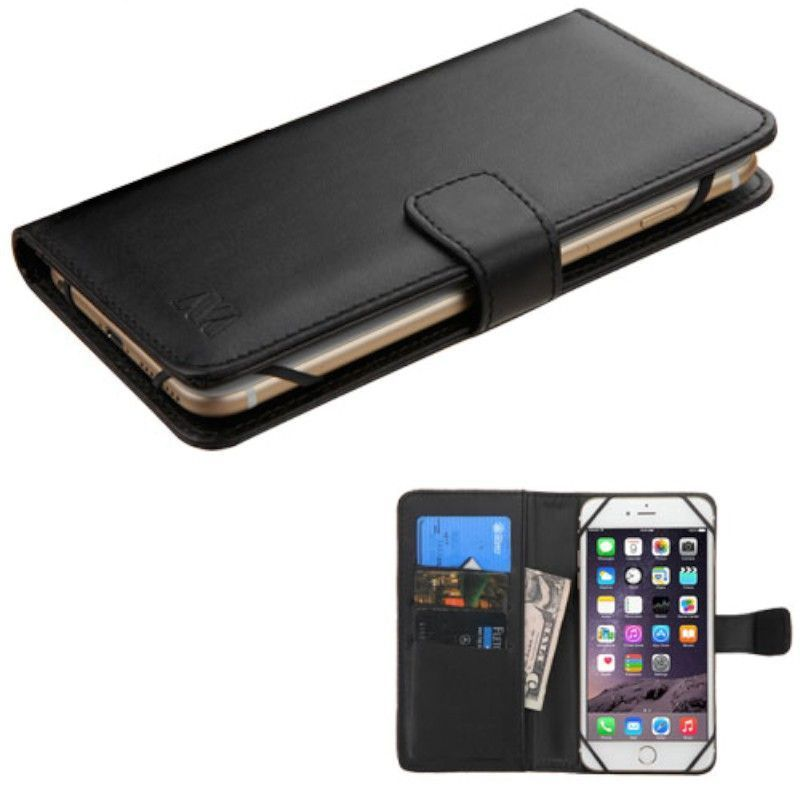 Insten Black Leatherette Case Cover For Alcatel One Touch...