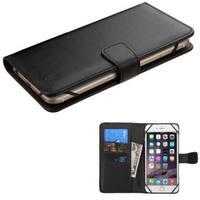 Insten Black Leatherette Case Cover For Alcatel One Touch Fierce 4/ Motorola Droid Turbo 2 Moto G4 Plus XT1644
