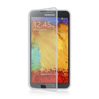 Insten TPU Rubber Candy Skin Case Cover with Screen Protector For Samsung Galaxy Note 3