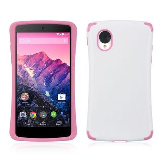 Insten TPU Rubber Candy Skin Case Cover For LG Google Nexus 5 D820