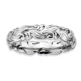 Sterling Silver Affordable Expressions Polished Ring