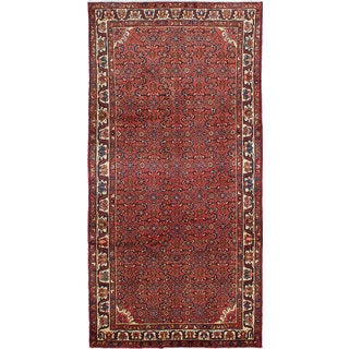 ecarpetgallery Hosseinabad Brown Wool Rug (5'0 x 10'0)