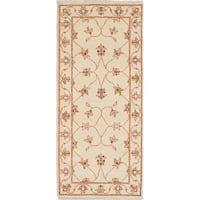 ecarpetgallery Chubi Collection Ivory Wool Rug (2'3 x 5'4)