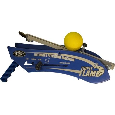 Louisville Slugger Triple Flame Hand Held Pitching Machine