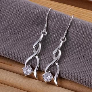 Hakbaho Jewelry Sterling Silver Modern Spiral Drop Earring|https://ak1.ostkcdn.com/images/products/15921168/P22323694.jpg?impolicy=medium