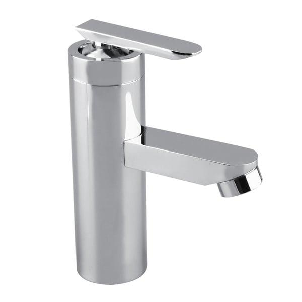 Brushed Chrome Bathroom Faucet Single Handle