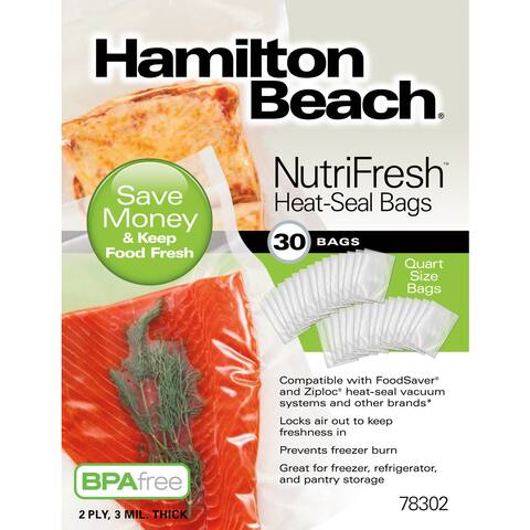 Hamilton Beach® NutriFresh Heat-Seal Bags