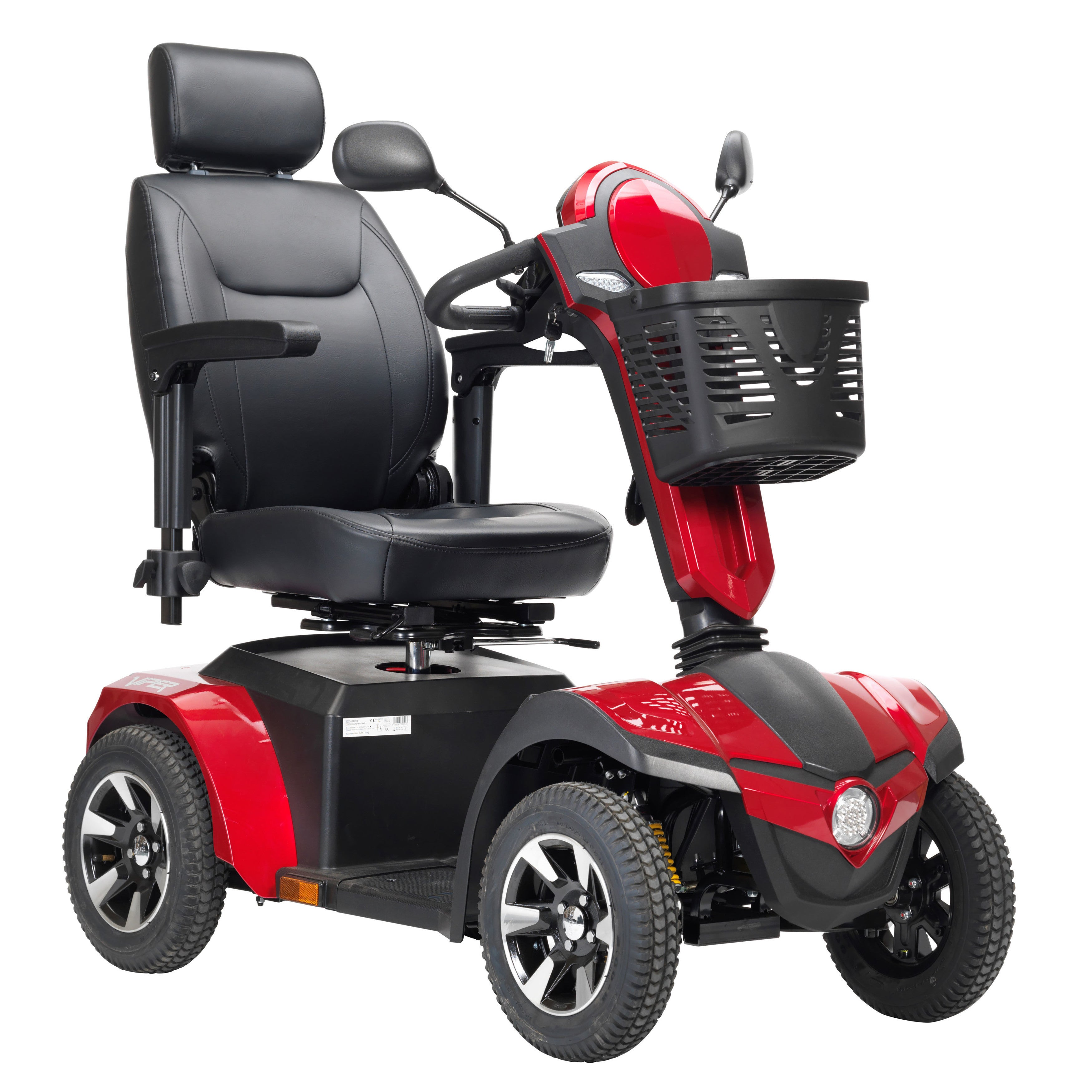 Drive Medical Panther 4-Wheel Heavy Duty Scooter (Black)