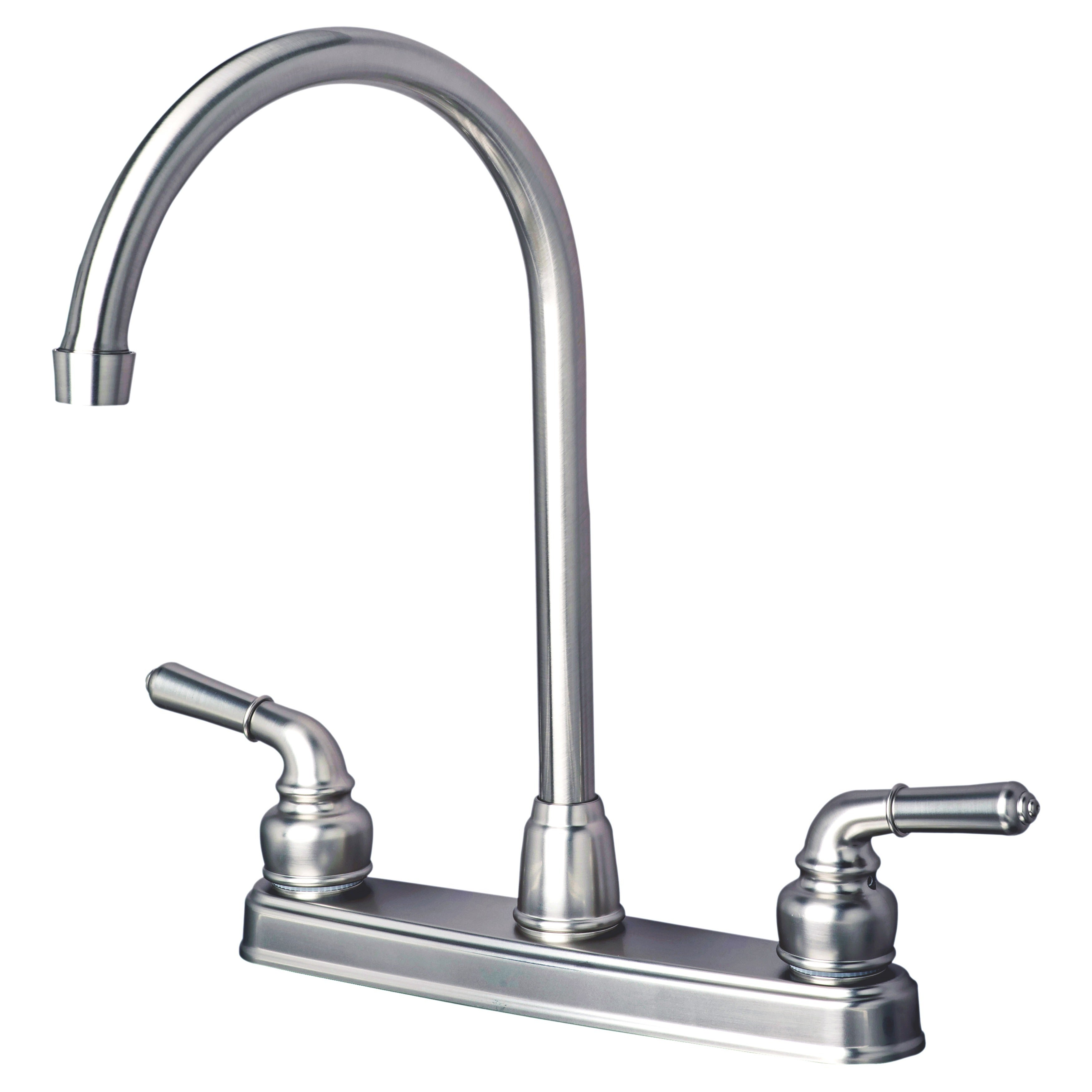 Builders Shoppe 1201 Rv Mobile Home Replacement High Arc Swivel Kitchen Faucet On Sale Overstock 15921244