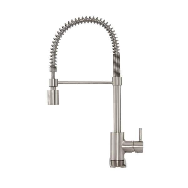 Danze The Foodie DH451188SS Stainless Steel Pre-Rinse Kitchen Faucet