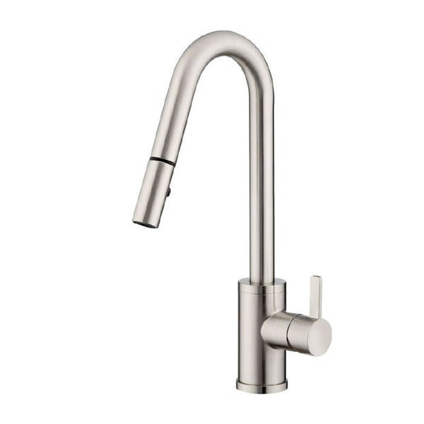 Danze Amalfi D457130ss Stainless Steel Single Handle Pull Down