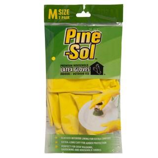 Pine-Sol Latex Gloves (Medium)