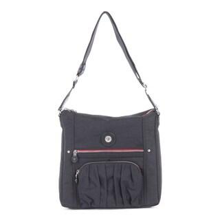 Bugatti CLOUD Black IDB Crossbody Handbag