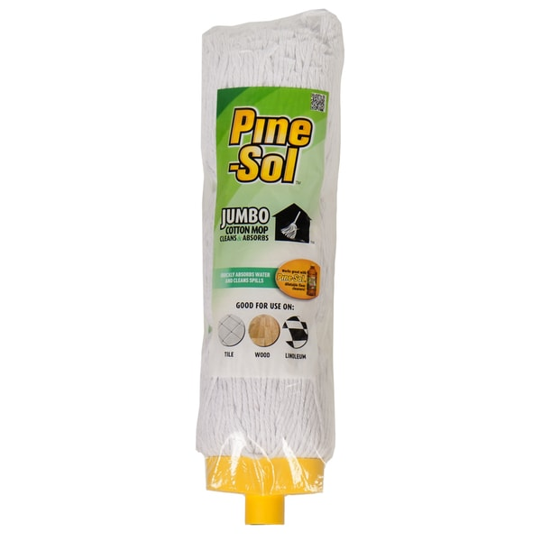 Shop Pine Sol Jumbo Cotton Mop Refill Free Shipping On