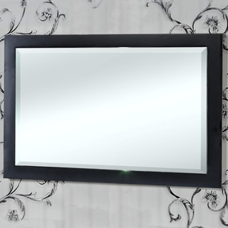 InFurniture Contemporary 34-inch Bevel-edge Wall Mirror