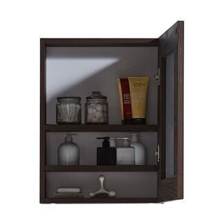 InFurniutre 17.7-inch Medicine Cabinet (Option: Textured)