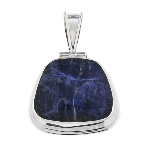 Sodalite and .925 Sterling Silver