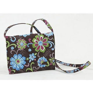 Crossbody Quilted Handbag with Zippered Wallet