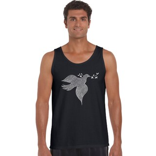Los Angeles Pop Art Men's Tank Top - Dove