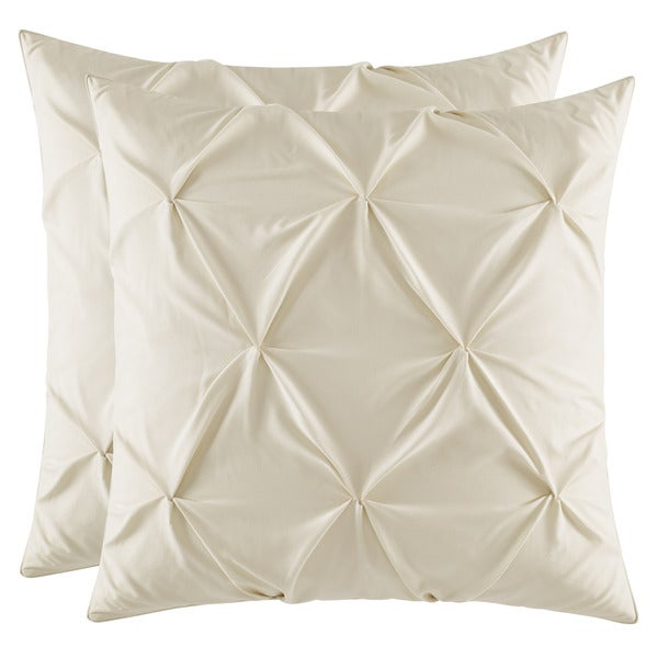 Stone Cottage Bernadette Beige European Sham Set