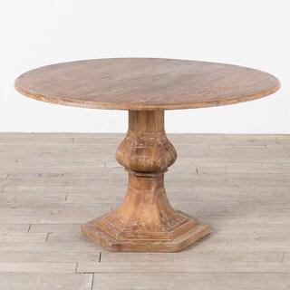 Handmade Mango Wood Round Table (India)