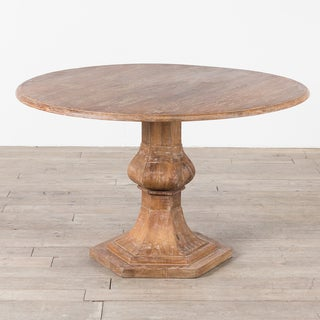 "CG Sparks Handmade Mango Wood 48"" Dia. Round Dining Table (India)"