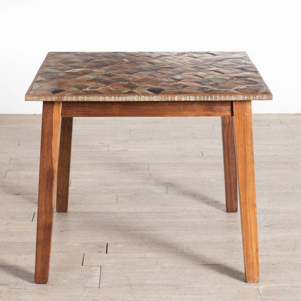 Shop Cg Sparks Handmade Parquet 3 Square Kitchen Table India