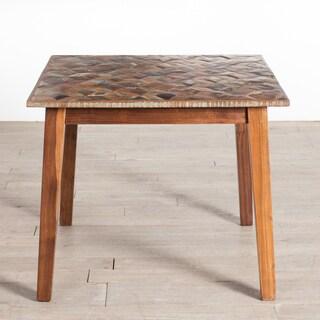Handmade Parquet Kitchen Table (India)