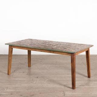 Handmade Parquet Dining Table (India)