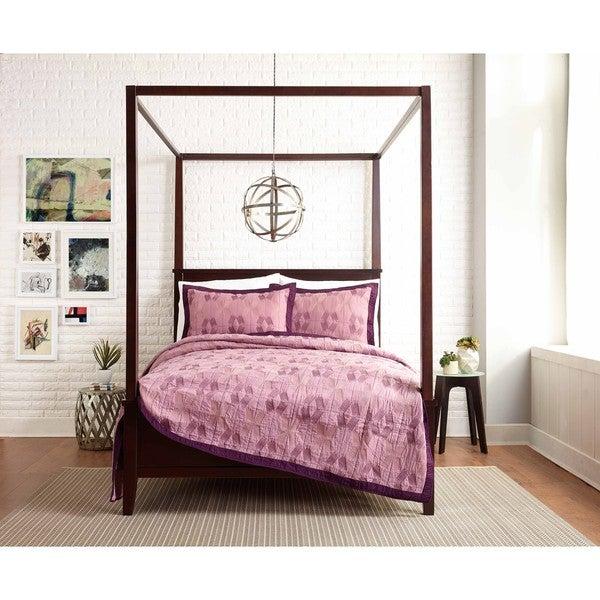Presidio Square Carson Lavender Quilt (Shams sold seperately)