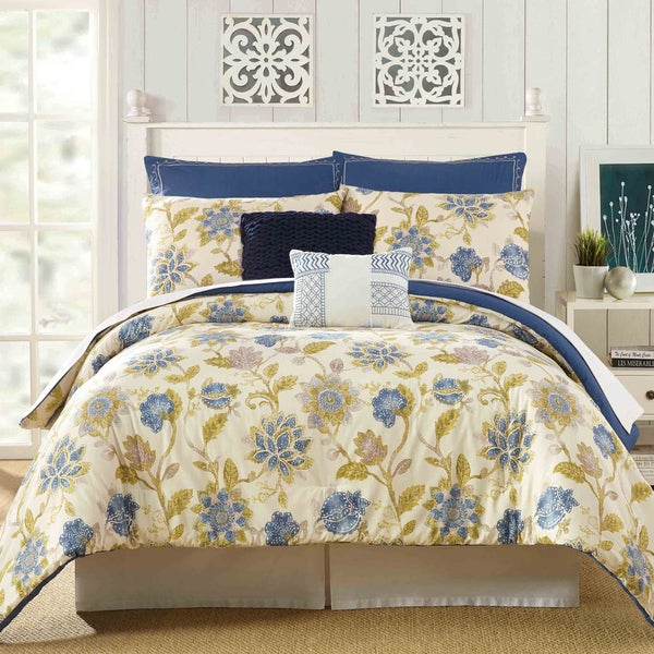 Presidio Square Monterey Cotton 7-piece Comforter Set