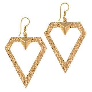 Handmade Alchemia Diamond Drop Earrings (Mexico)