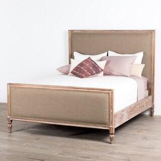 Handmade Provincial Artisan Cal King Bed (India)