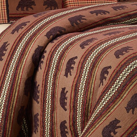 HiEnd Accents Bayfield Bear Duvet