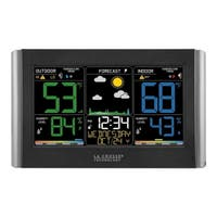 La Crosse Technology C85845 Wireless Color Weather Station with Alerts