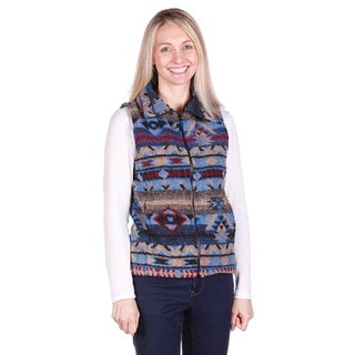 Mazmania Looped Wool Lapis Vest
