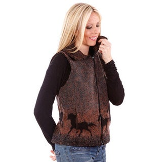 Mazmania Looped Wool Sunrise Horses Vest