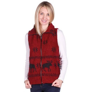 Mazmania Looped Wool Moose Vest