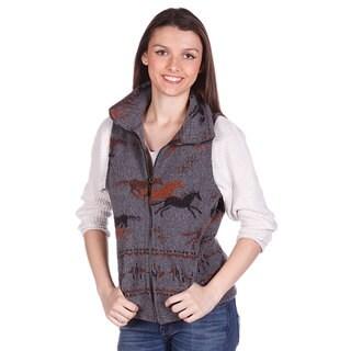 Mazmania Looped Wool Frontier Horses Vest