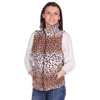 Mazmania Looped Wool Cheetah Vest