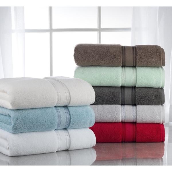 7a49d5921d8 Lezeth Collection-Super Absorb 100% Cotton Zero-Twist 6-piece Towel Set