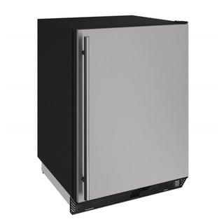U-Line 24-inch Reversible Hinge Stainless 115v Solid Refrigerator