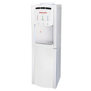 Honeywell HWB1033W2 Cabinet Freestanding Hot, Cold & Room Water Dispenser with Stainless Steel Tank, White