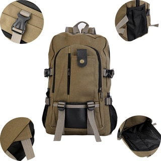 Men's Canvas Laptop Backpack
