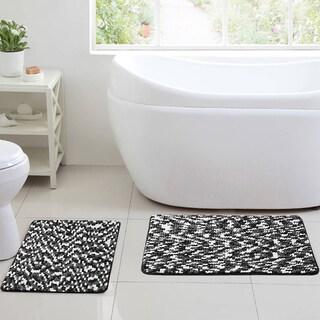 Belmont Ultra Sponge Chenille 2-Piece Bath Rug Set