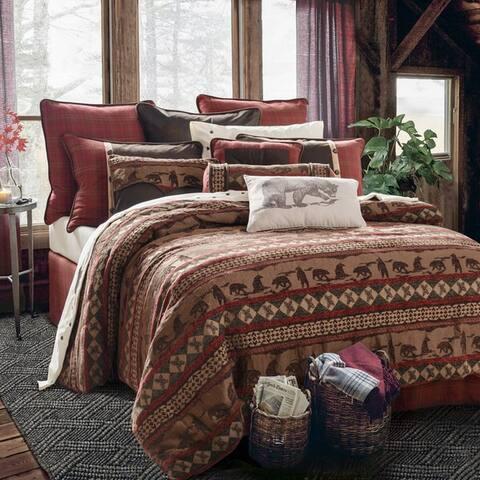 HiEnd Accents Cascade Lodge Comforter Set