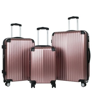 American Green Travel Melrose 3-piece Hardside Luggage Set