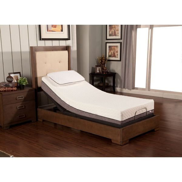 Sleep Zone Huntington 10-inch Twin XL-size Memory Foam ...